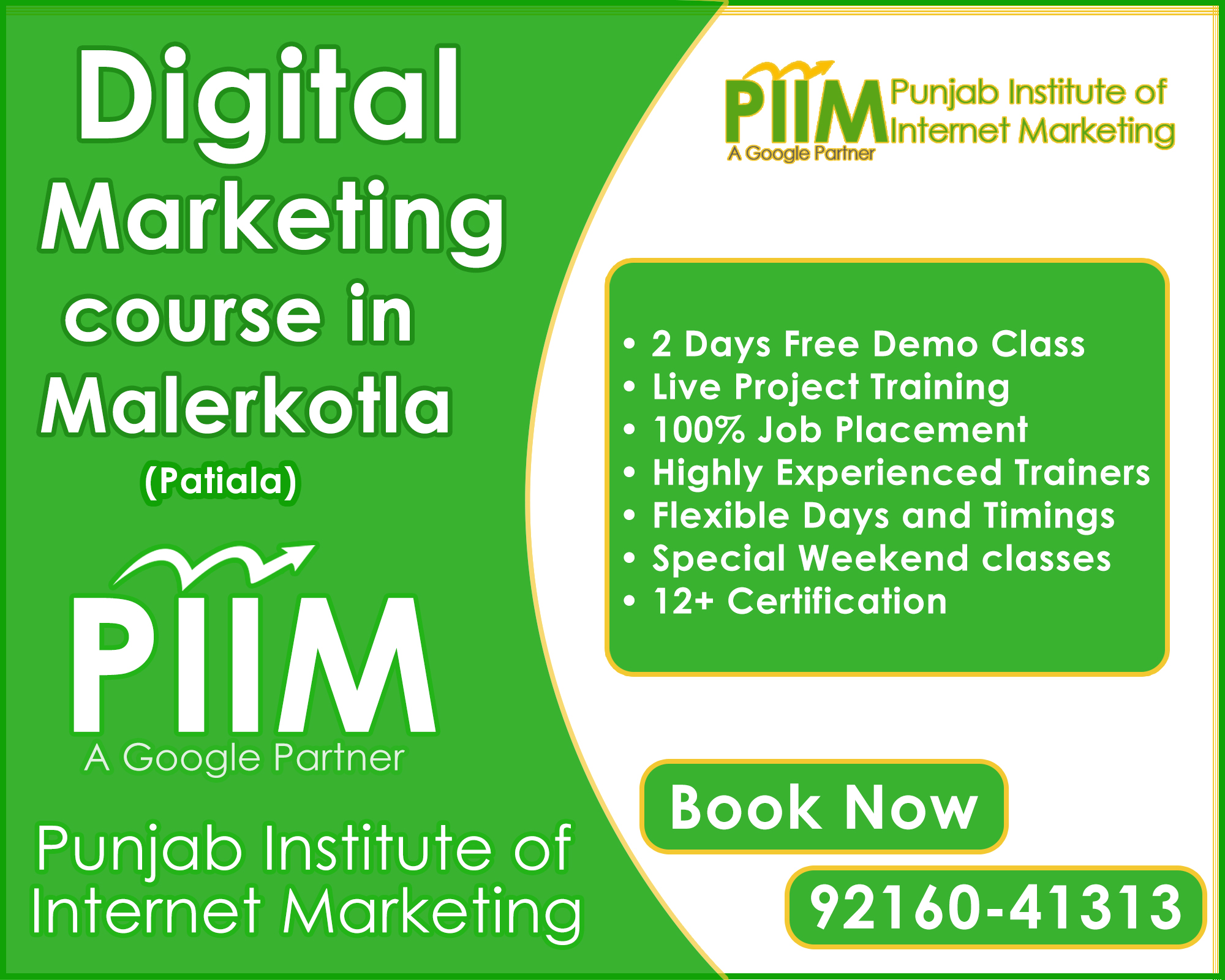 Digital Marketing Course in Malerkotla