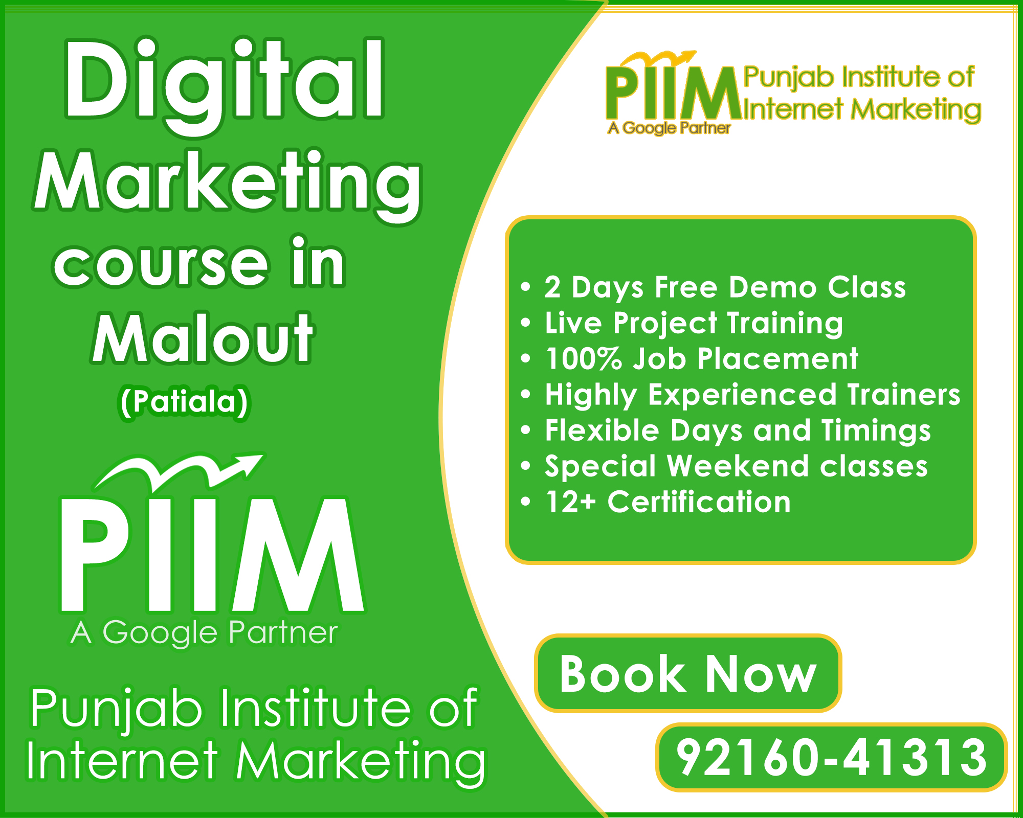 Digital Marketing Course in Malout